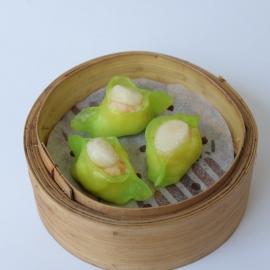 Jade scallop dumpling